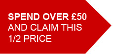 Spend £50 and claim...