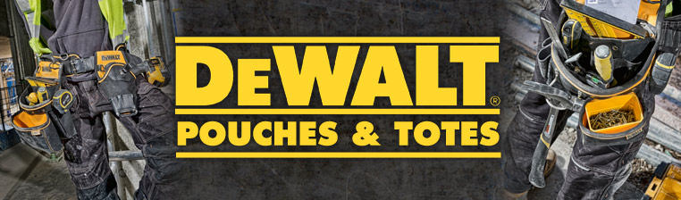 Dewalt Pouches and Totes