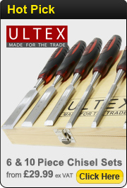 Ultex 6 & 8 Piece Chisel Sets