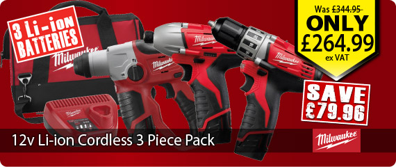 Milwaukee Power Tool Kit