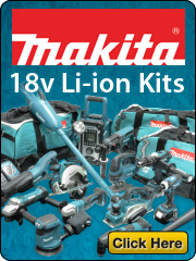 makita power tool 18v kits