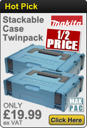 Makita Stackable Cases Twinpack