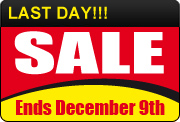 Sale Now On - 10 Days Only!