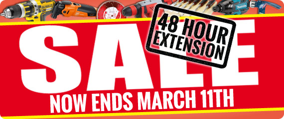 ITS Power Tool Sale - 10 Days Only