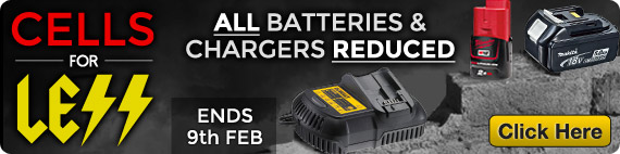 Cells For Less - Batteries and Chargers Reduced