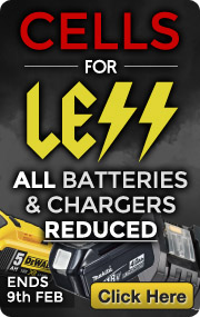 Batteries and Chargers Reduced