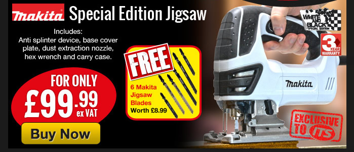 Makita 4350CTWX Jigsaw for £99.99