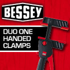 Bessey DUO One Handed Clamps