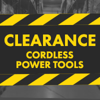 Clearance Cordless Power Tools
