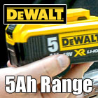 Dewalt 5.0Ah Li-ion Tools and Kits