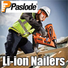 Paslode Lithium ion Nailers