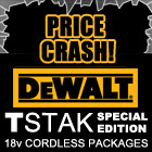 Price Crash on Dewalt T-STAK Packages