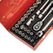 "Sealey AK693 Sealey Socket Set 32pc 1/2""Sq Drive 6pt WallDrive® - DuoMetric®_Alt_Image_0"