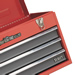 Sealey AP9243BB Sealey Topchest 3 Drawer Portable with Ball Bearing Runners - Red/Grey_Alt_Image_0