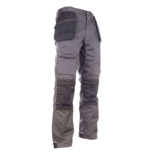 Apache apkht pollycotten work trouser with holster pockets grey