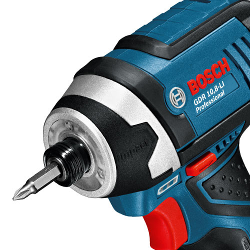 bosch gsb gdr 108 bosch impact driver and drill driver kit. Black Bedroom Furniture Sets. Home Design Ideas