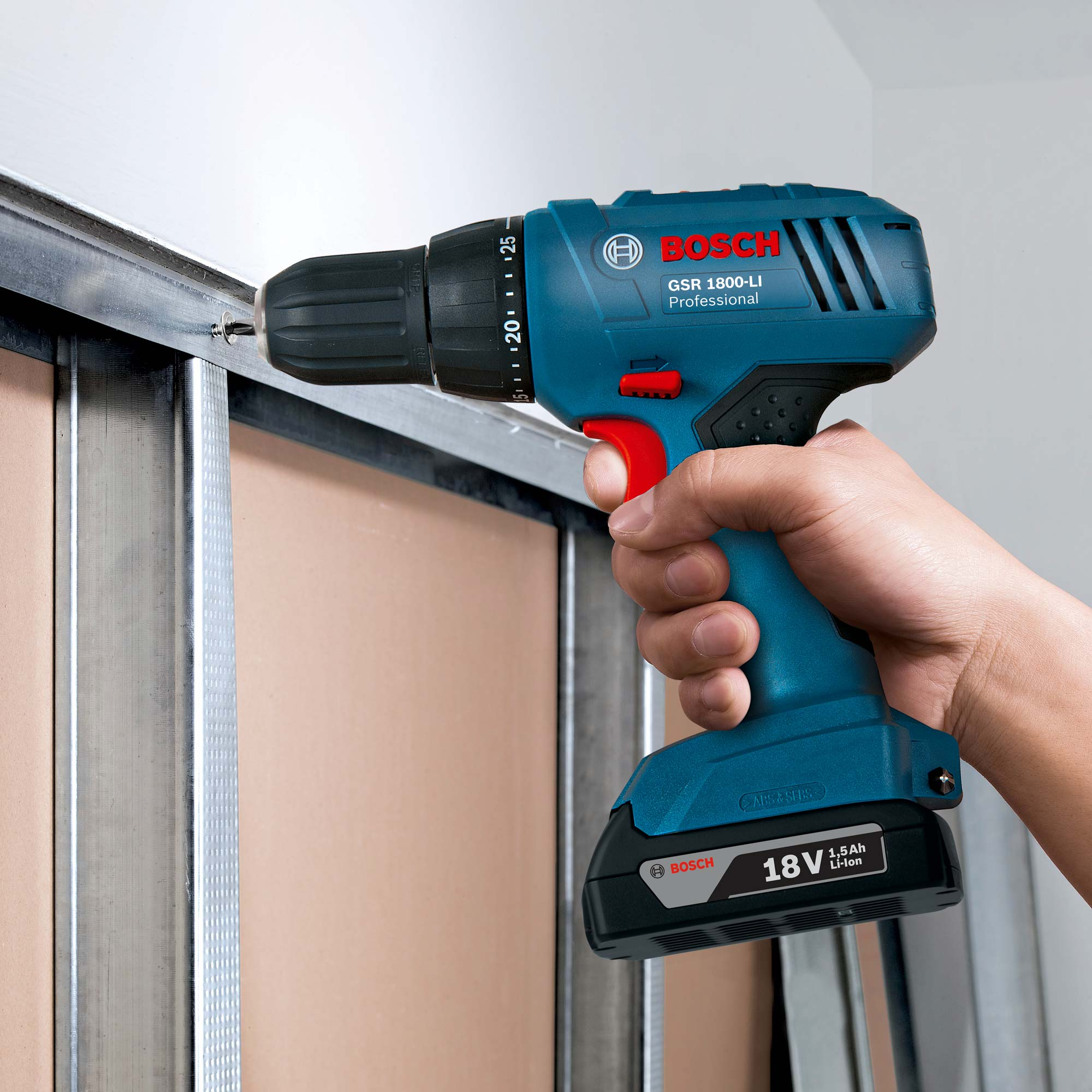 bosch gsr 1800 li bosch professional drill driver. Black Bedroom Furniture Sets. Home Design Ideas