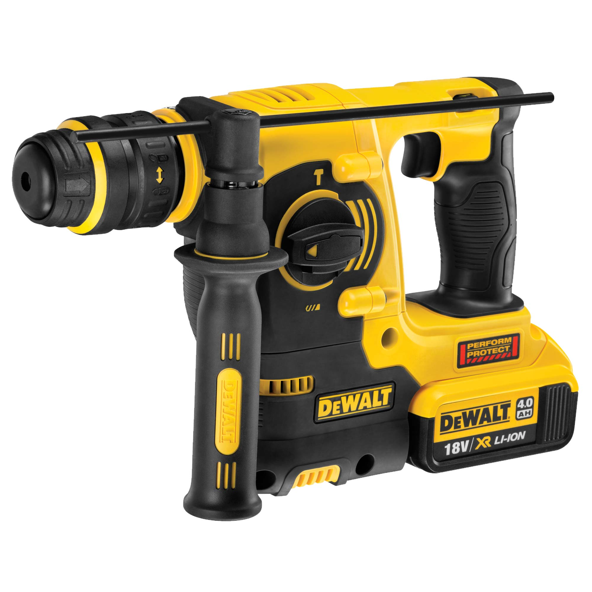 dewalt dch254m1 dewalt 18v xrp li ion sds rotary hammer. Black Bedroom Furniture Sets. Home Design Ideas