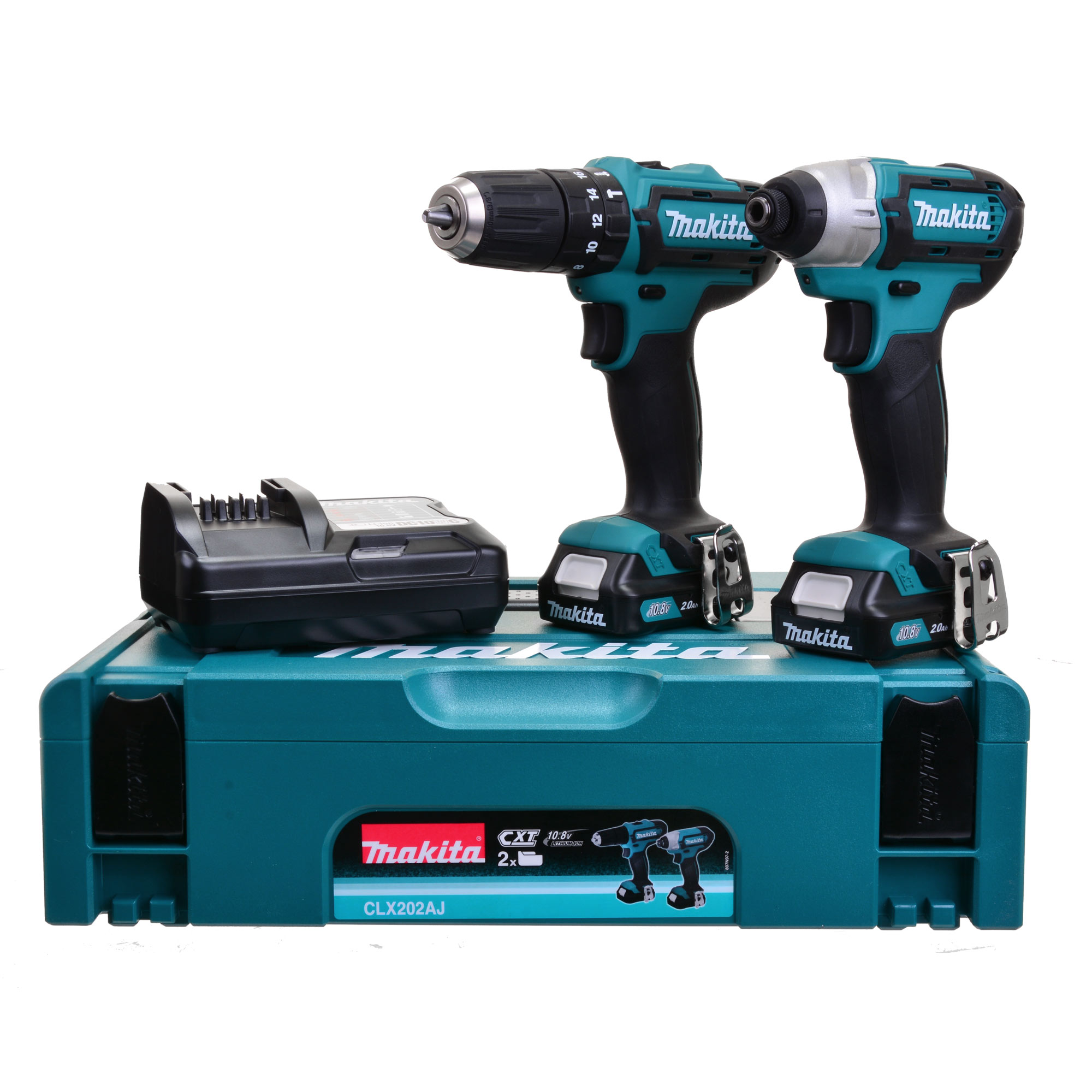 makita clx202aj makita cxt cordless li ion 2 piece kit. Black Bedroom Furniture Sets. Home Design Ideas