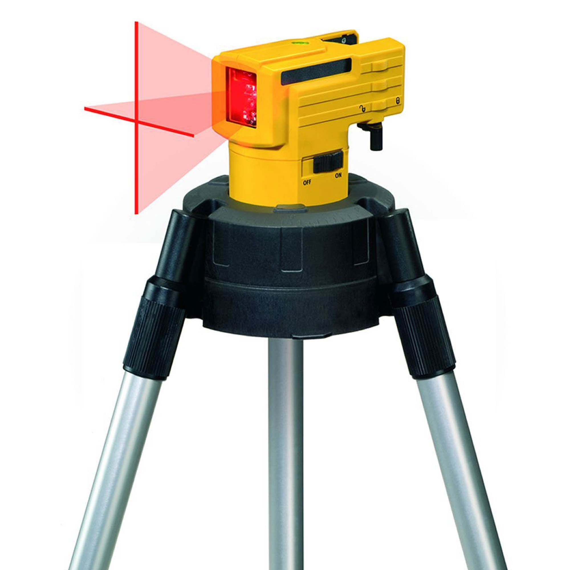 LAX50 Stabila LAX 50 Self Levelling Cross Line Laser Level _STBLAX50 on Number Line 1 100
