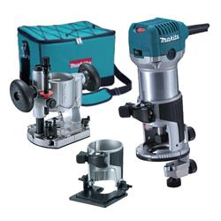 "RT0700CX2 Makita 1/4"" Router/Trimmer Kit MAKRT0700CX2"
