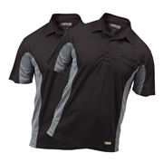 Apache Dry Max Polo Shirt (Black/Grey) Pack of 2