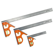 Bahco CSPACK Bahco Combination Square Triple Pack
