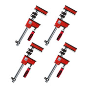 Bessey KR125-2K PK4 Bessey 1250mm KR Body Clamp - Pack Of 4