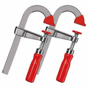 Bessey LMU10/5 Bessey 10/5 U-Style Bar Clamp Pack of 2
