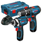 Bosch 108 GSB GDR Bosch 10.8v Impact Driver and Drill Driver Li-ion 2 Piece Kit