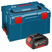 Bosch 1600Z00038 Bosch 18v 4.0Ah Lithium-ion CoolPack Battery & L-BOXX Case