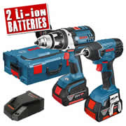 Bosch RS-GSBGSR18 LI Bosch 18v Li-ion Robust Series Twin Pack
