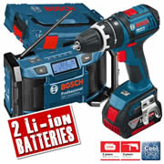 Bosch SOUNDBOXXGSB Bosch 18v 4.0Ah Lithium-ion Cordless 2 Piece Kit