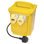 Professional CARCM15002 Transformer Twin Outlet (1.5kva)