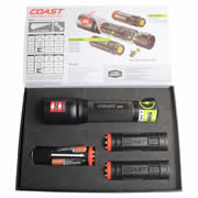 Coast HP7R Coast LED Rechargeable Torch Kit