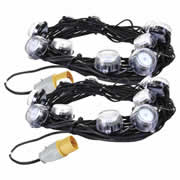 Defender E89332-PK2 Defender LED Festoon Lights 22m 110v - Pack Of 2