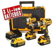 Dewalt BXR2T3 Dewalt 18v Li-ion 4.0Ah Brushless 2 Piece Package