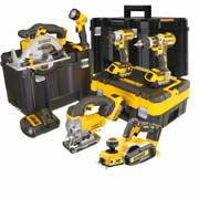 Dewalt BXR6TP Dewalt 18v Lithium-Ion 6 Piece Package