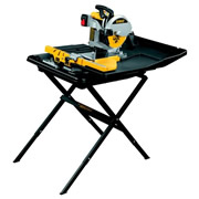 Dewalt D24000 Dewalt Slide Table Wet Tile Saw