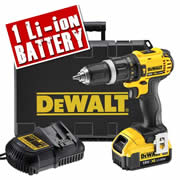 DCD785M1 Dewalt 18v 4.0Ah XR Lithium-ion 2 Speed Hammer Drill/Driver DEWDCD785M1