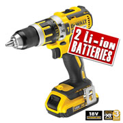 Dewalt DCD795D2 Dewalt 18v XR Lithium-ion 2 Speed Brushless Hammer Drill/Driver