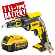 Dewalt DCF620N4 Dewalt 18v Li-ion XR Drywall Screwdriver Body + 1 x 4.0ah Battery