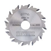 Dewalt DT1306QZ 102mm 12 Tooth TCT Saw Blade (For Biscuit Jointers)