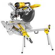 Dewalt DW717XPSPKB Dewalt 254mm Slide Compound Mitre Saw + Compact legstand