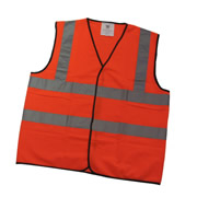 Orange Hi-Vis Vest (X-Large)