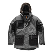 Dickies JW7008GRY Dickies Parka Jacket (Grey)