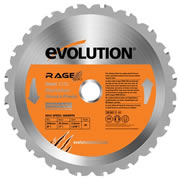 Evolution EVO230RAGE Evolution 230mm RAGE230 Replacement Multipurpose Blade