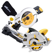 CSAWKIT Evolution Construction Edition Mitre Saw & Circular Saw Package EVOCSAWKIT
