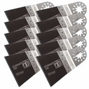 Fein 63502134030 Fein Standard E-Cut Saw Blade, Wide (65mm) Pack of 10