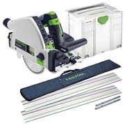 TS55REBQPLUSKIT Festool 55mm Circular Plunge Saw Package FESTS55REBQPLUSKIT